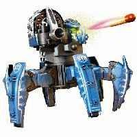 Радиоуправляемый робот-паук Doom Razor (синий, стреляет ракетами) - CC-1003