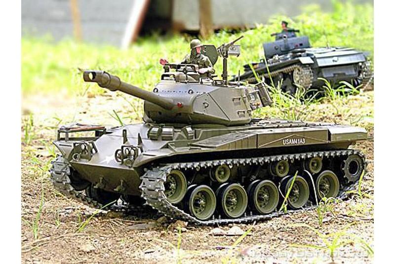 3839-1 PRO Радиоуправляемый танк Heng Long Bulldog 1:16 (3839-1 PRO)