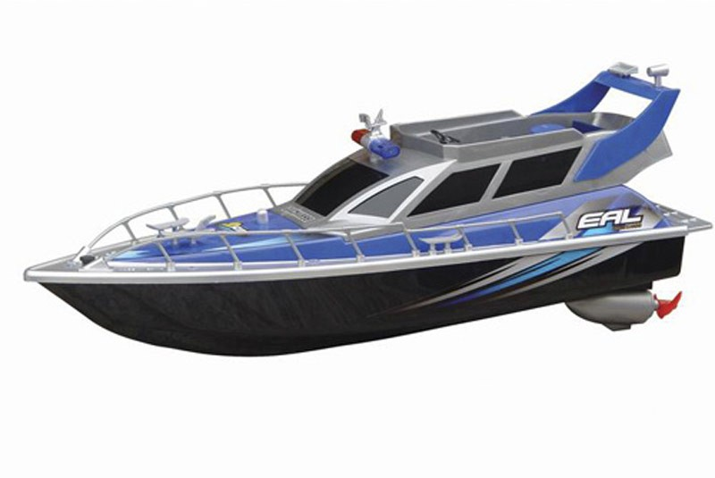 2875 Радиоуправляемый полицейский катер Heng Tai Police Speed Boat 1:20 (HT-2875)