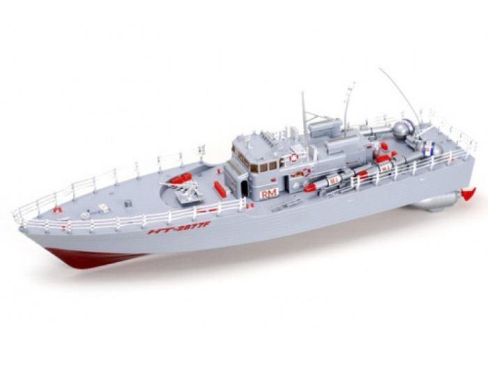 2877 Радиоуправляемый торпедный корабль Heng Tai Speed Battle Ship 1:20 2877