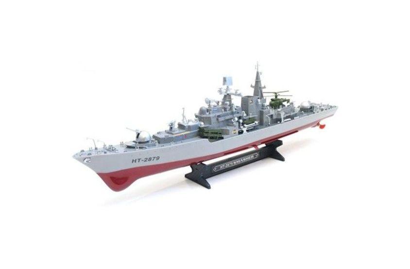 HT-2879 Радиоуправляемый авианосец Heng Tai Speed Battle Ship 1:275 (HT-2879)