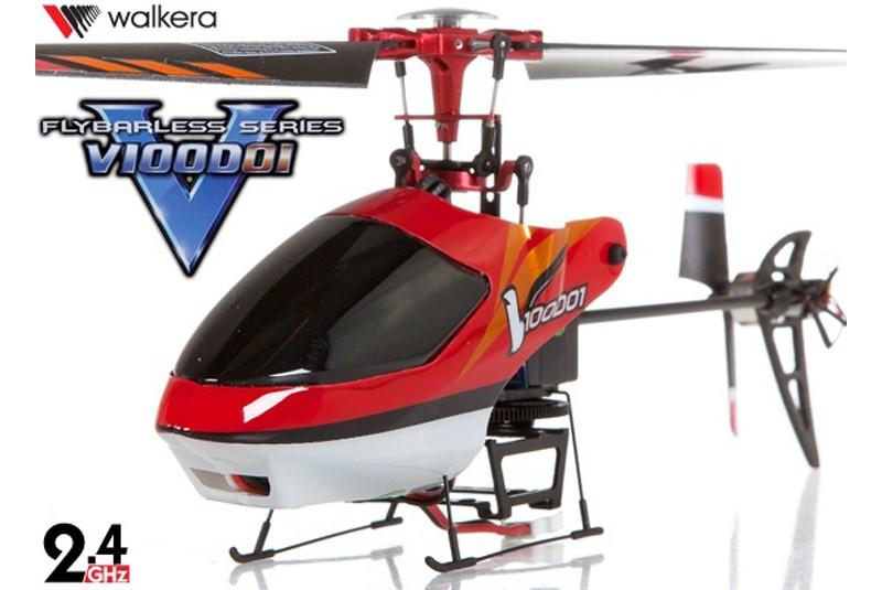 Радиоуправляемый вертолет Walkera V100D01 3-Axis - 2.4G