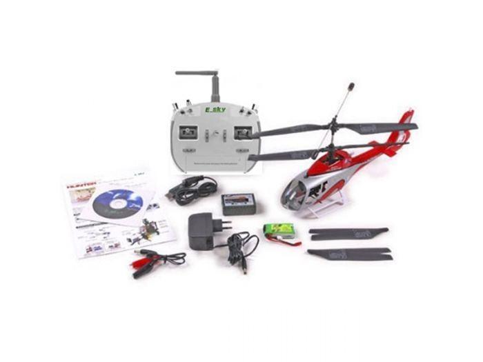 Радиоуправляемый вертолет E-sky EC-130 Hunter - 2.4G (003740)