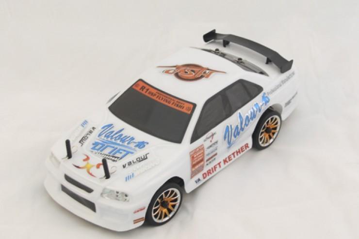 Радиоуправляемый автомобиль для дрифта HSP Flying Fish 2 - 1:16 4WD - 94163T3-16331W Waterproof - 2.4G