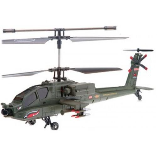 s023G Радиоуправляемый вертолет Syma Apache AH-64 S023G