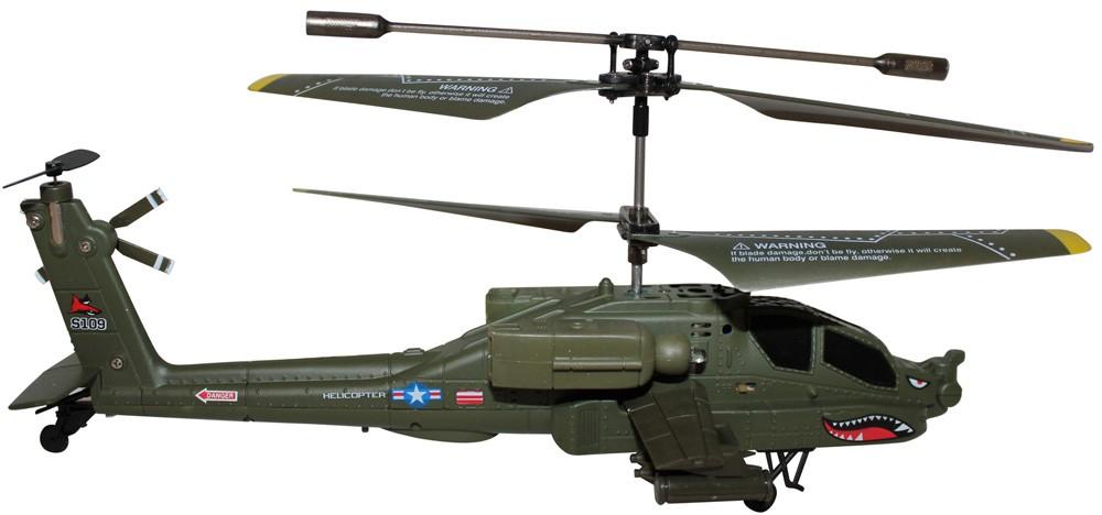 s109g Радиоуправляемый вертолет Syma Apache AH-64 S109G