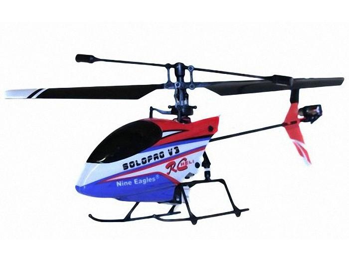 NE30226024207001(260A) Радиоуправляемый вертолет Nine Eagles Solo Pro V3 260A (RED&BLUE) 2.4 GHz RTF - NE30226024207001