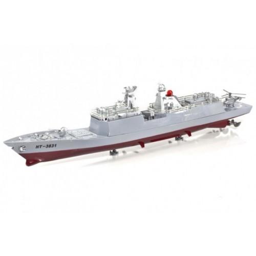 HT-3831 Радиоуправляемый авианосец Heng Tai Speed Battle Ship 1:275 (HT-3831)
