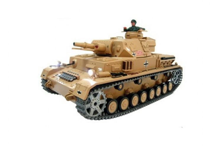 3858-1 Радиоуправляемый танк Heng Long DAK Pz. Kpfw.IV Ausf. F-1 1:16 (3858-1)
