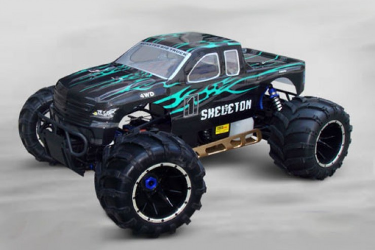 94050PRO-50910 Монстр Sheleton Gasoline Off Road Truck 30СС 4WD 1:5 - HSP 94050PRO-50910