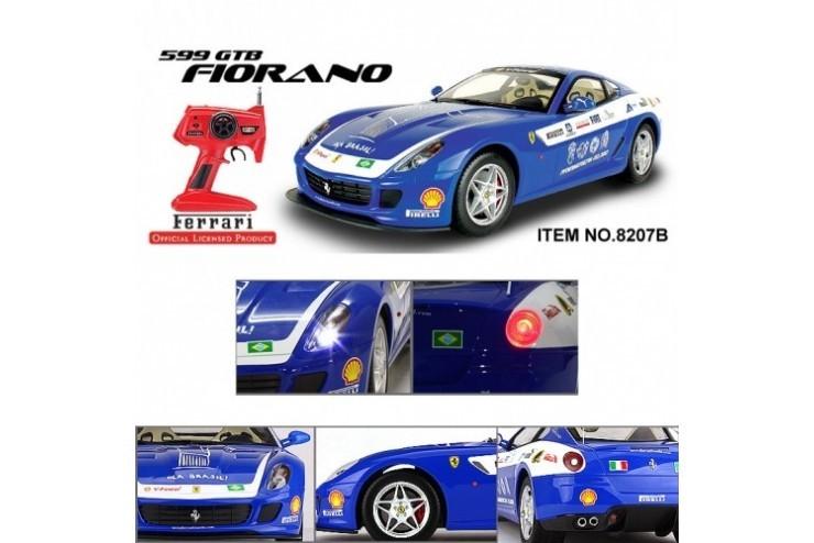 8207B Машина MJX Ferrari 599 GTB Fiorano PANAMERICAN 1:10 - 8207B
