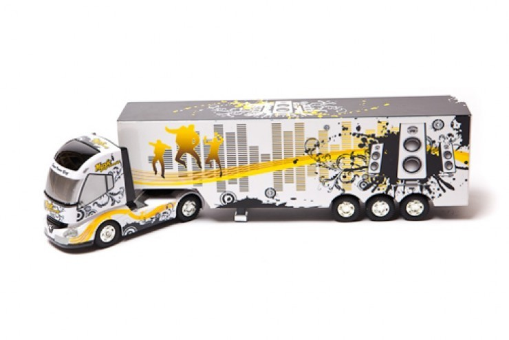 QY0201A Радиоуправляемый грузовик Rui Chuang - QY0201A