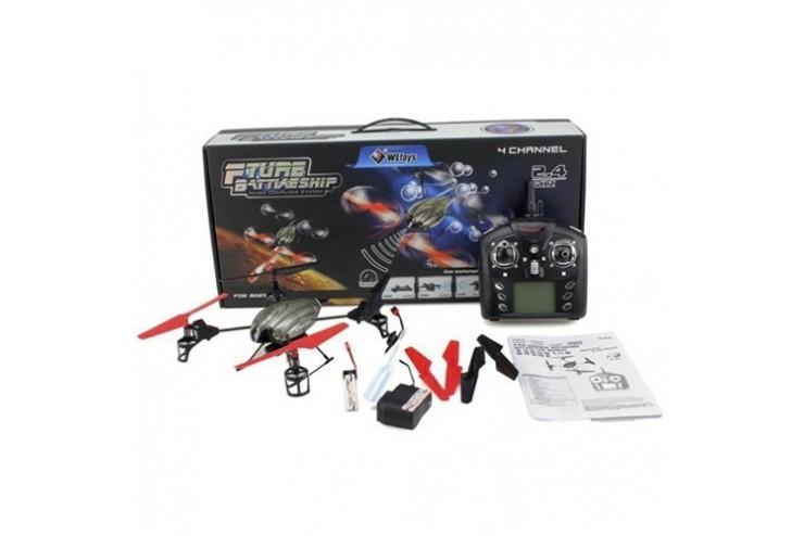 V979 Радиоуправляемый квадрокоптер WL Toys V979 2.4G с водяной пушкой - WL Toys V979