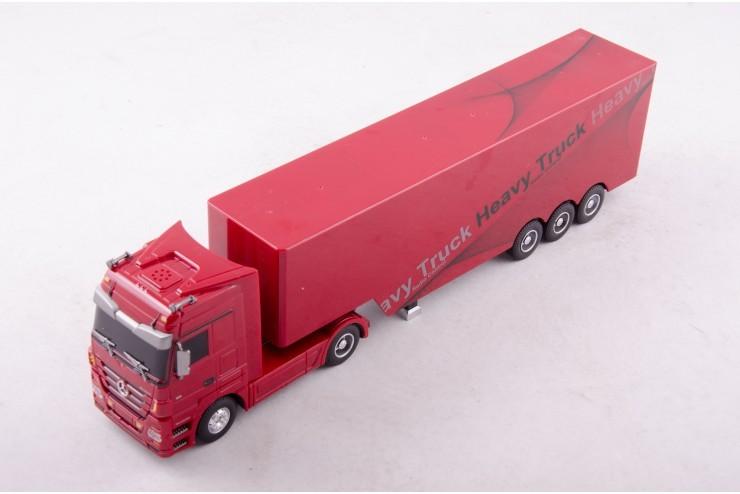 QY1101-R Радиоуправляемый грузовик Rui Chuang Mercedes-Benz Actros 1:32 - QY1101-R
