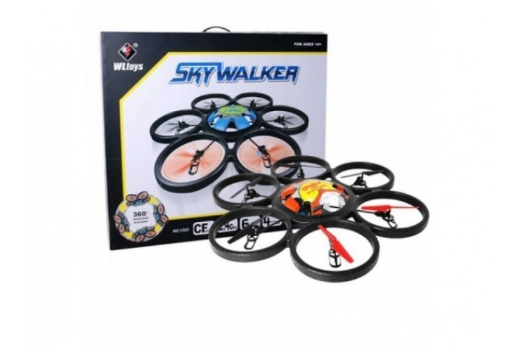 Радиоуправляемый гексакоптер WL Toys V323C SkyWalker с HD камерой 2.4G - V323C