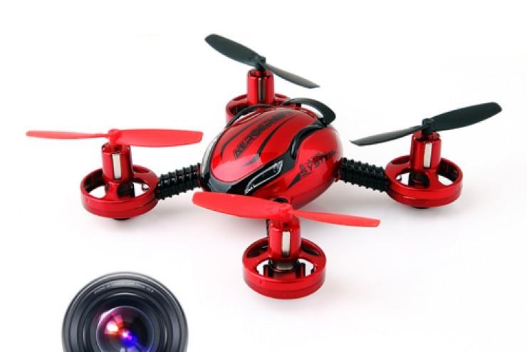 Радиоуправляемый квадрокоптер с камерой Flying Saucer Aircraft 3D 6 Axis Gyro JXD-392 2.4G - JXD392