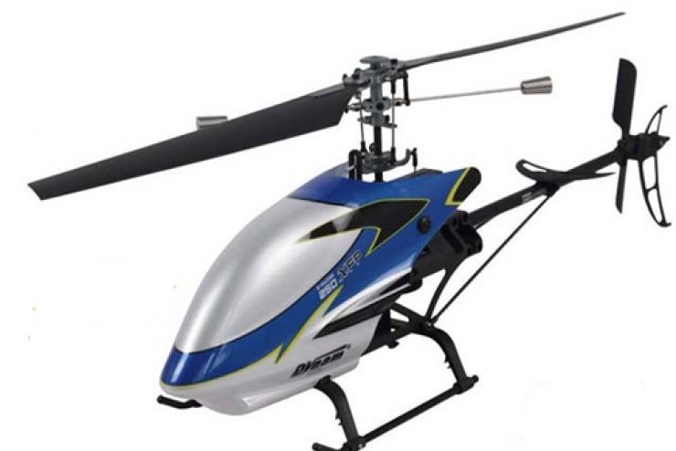 Радиоуправляемый вертолет Dynam E-Razor 250 Metall XFP RTF 2.4G - DY8898