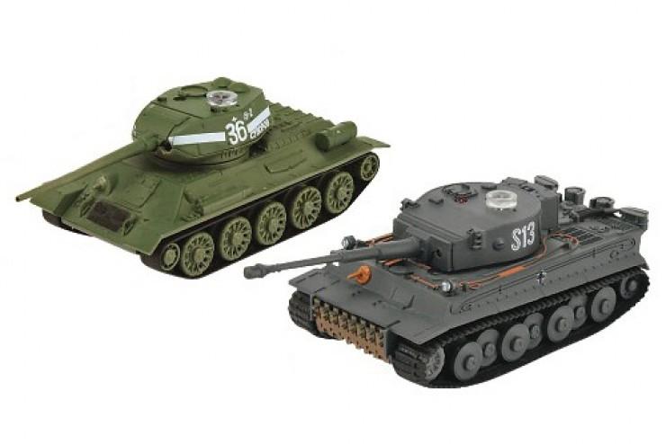 A03102354 Танковый бой на радиоуправлении VsTank Soviet Т34/85 и Tiger - A03102354