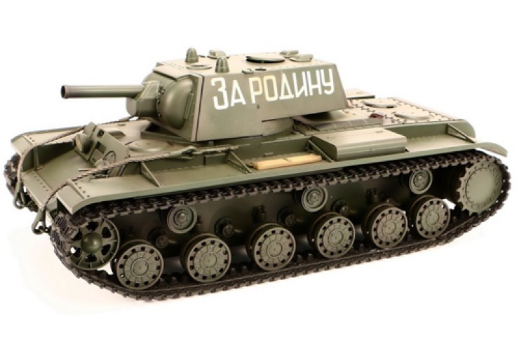 A03102977 Радиоуправляемый танк VsTank KV-1 Airsoft Green 2.4G - A03102977