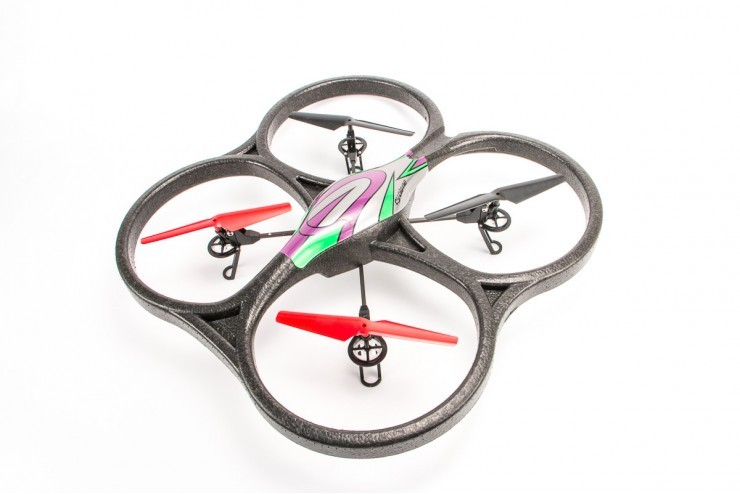 V333C Радиоуправляемый квадрокоптер WL Toys V333 Headless Camera Cyclone UFO Drones 2.4G - V333C