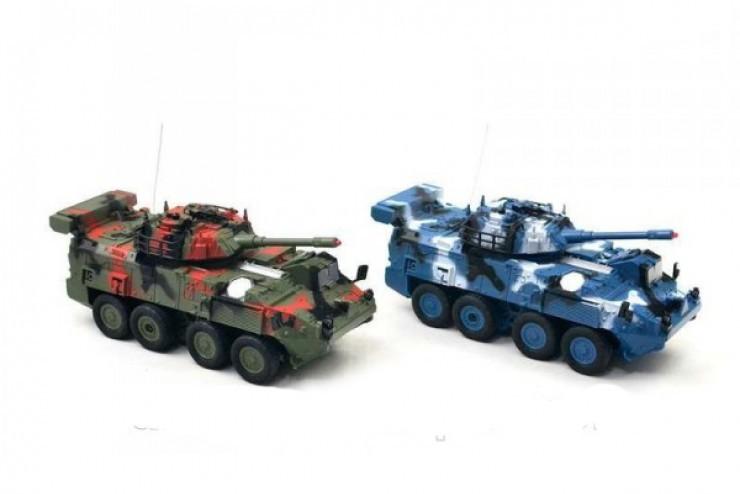 333-ZJ11 Радиоуправляемый бой танков БТР Huan Qi - 333-ZJ11