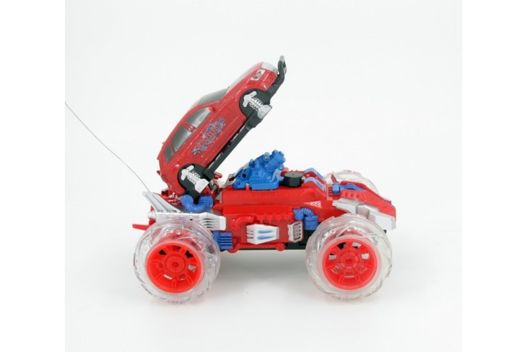 Радиоуправляемый красный джип с водяной пушкой Zhencheng  - 333-SS02