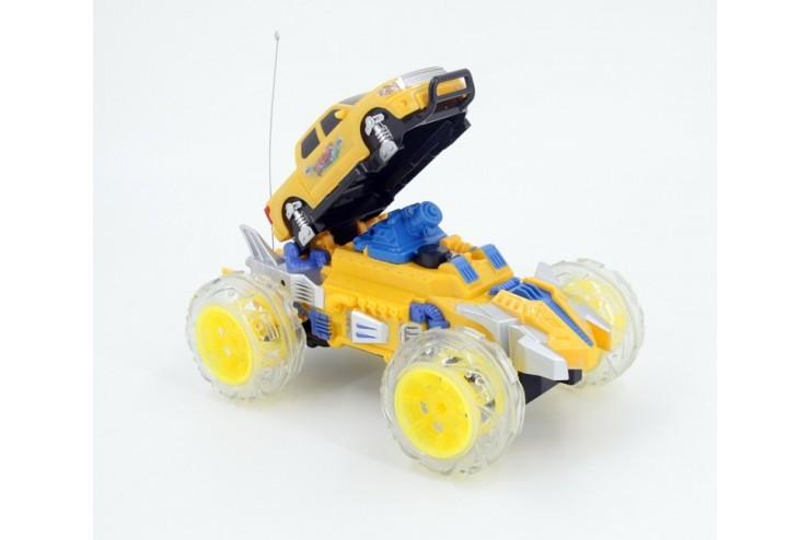 Радиоуправляемый желтый джип с водяной пушкой Zhencheng - 333-SS03