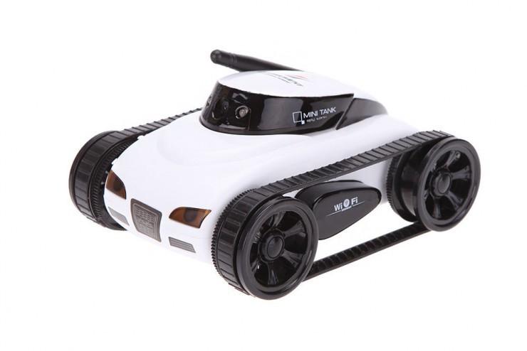 Радиоуправляемый мини танк-шпион Happy Cow I-Spy с камерой WiFi - 777-270