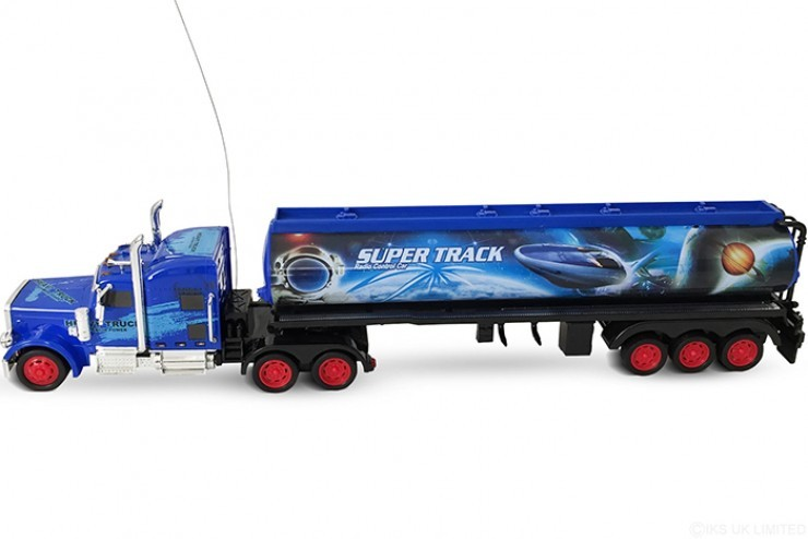 666-405 Радиоуправляемый трейлер цистерна CS TOYS Super Track - 666-405