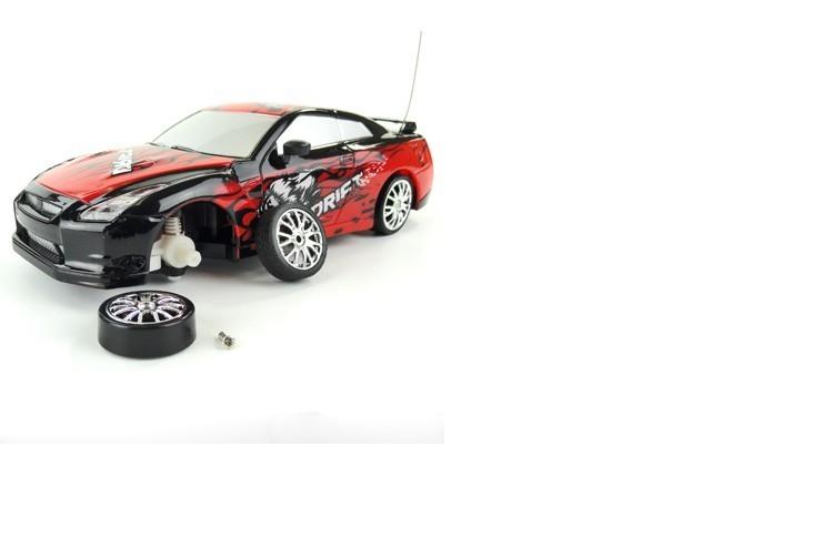 Радиоуправляемая машинка для дрифта HuangBo Toys Nissan Skyline GT-R 1:24 - 666-210