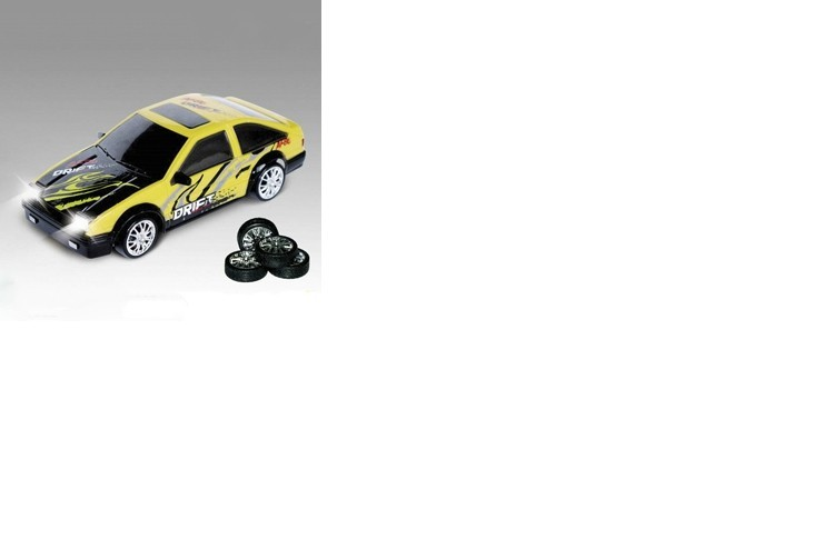 Радиоуправляемая машинка для дрифта HuangBo Toys  Toyota Corolla Levin AE86 GT 1:24 - 666-211