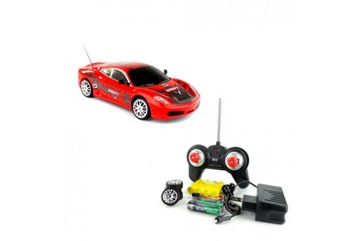 Радиоуправляемая машинка для дрифта HuangBo Toys  Ferrari F430 GT 1:24 - 666-213