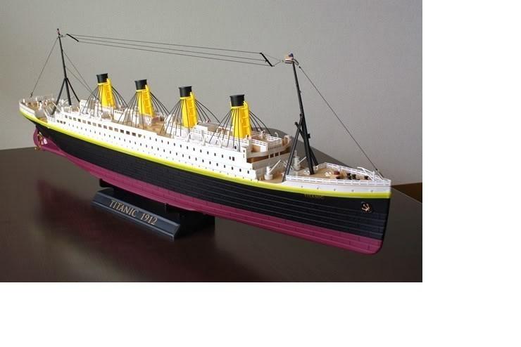 """Радиоуправляемый корабль Heng Tai """"Титаник'' 1:325 (757T-4020)"""