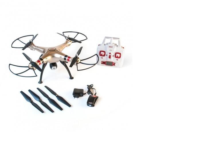 X8HC Радиоуправляемый квадрокоптер Syma X8HC с барометром и HD камерой - X8HC