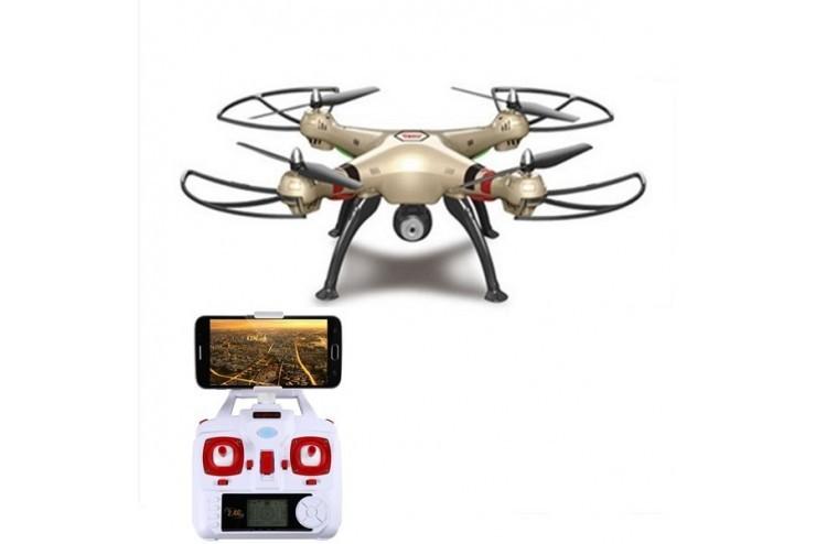 X8HW Радиоуправляемый квадрокоптер Syma X8HW с барометром и WiFi FPV камерой - X8HW