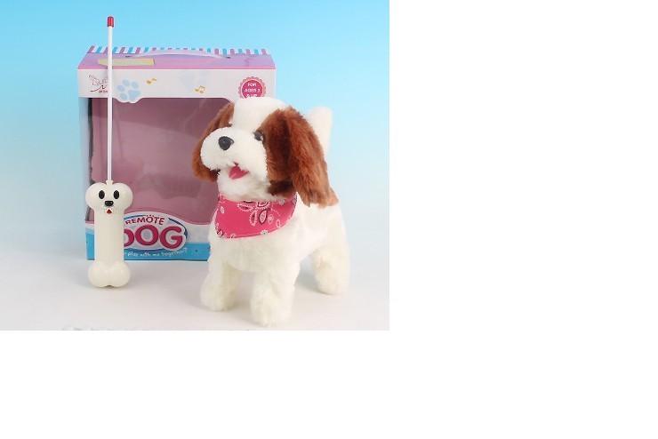 """Радиоуправляемая плюшевая собака """"Болонка"""" Nanyang - 9698B4"""