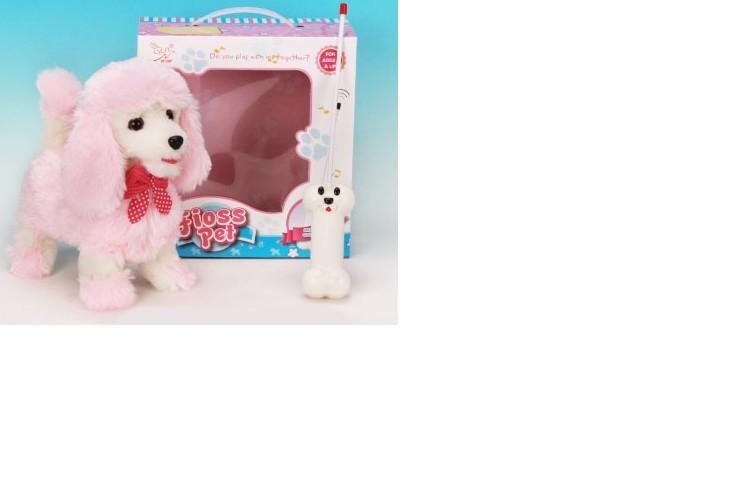 """Радиоуправляемая плюшевая собака """"Пудель"""" Nanyang - 9691B4"""