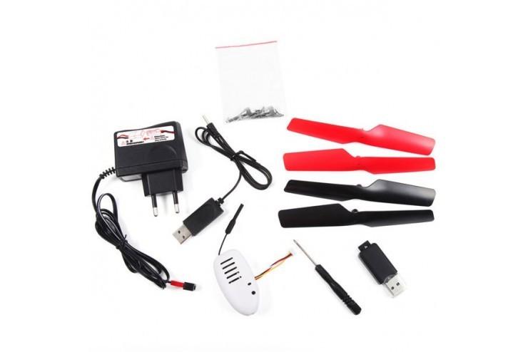 Радиоуправляемый квадрокоптер WL Toys V686K Wi-Fi FPV камера с возможностью трансляции видео на телефон - V686K