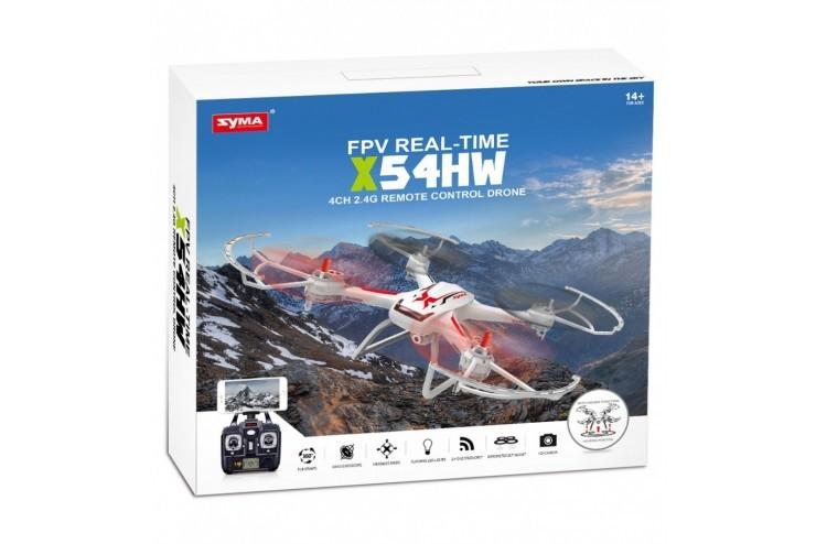 Радиоуправляемый квадрокоптер Syma X54HW с барометром и WiFi камерой - X54HW