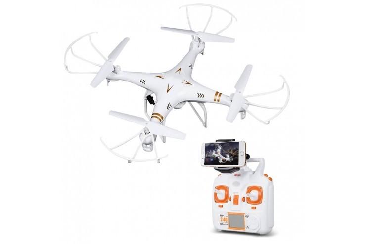 Радиоуправляемый квадрокоптер с камерой HD MJX - X705C