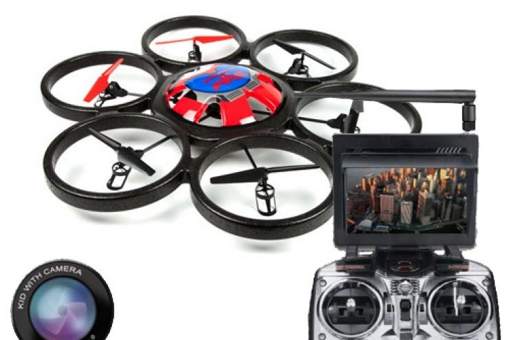 Гексакоптер с HD камерой FPV на р/у WL Toys V323FPV