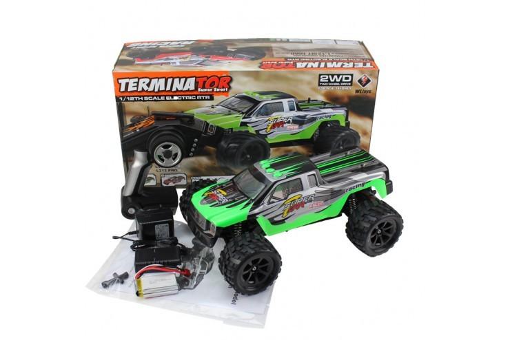 L969 Внедорожник Terminator на р/у WL Toys L969