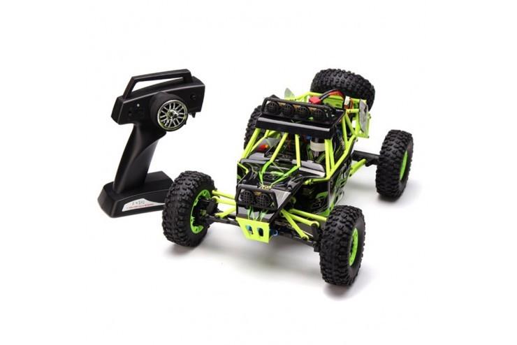 Радиоуправляемый внедорожник 4WD с 4-канальное управление 2,4 ГГц в масштабе 1 к 12 со светодиодной подсветкой WL Toys 12428