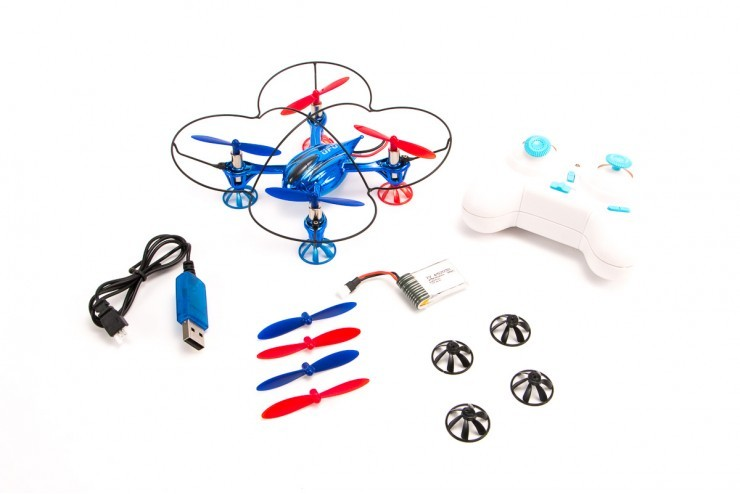V343 Радиоуправляемый квадрокоптер Micro Quadcopter 2.4G WL Toys V343