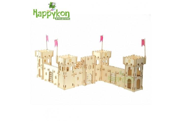 """Конструктор Хэппикон """"Крепость"""" из дерева Хэппикон HK-KR001"""