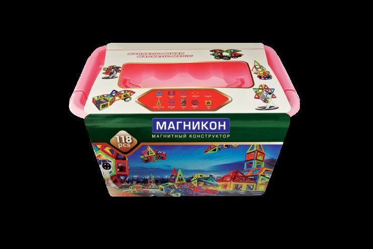 Магнитный конструктор МАГНИКОН MK-118 МАГНИКОН MK-118