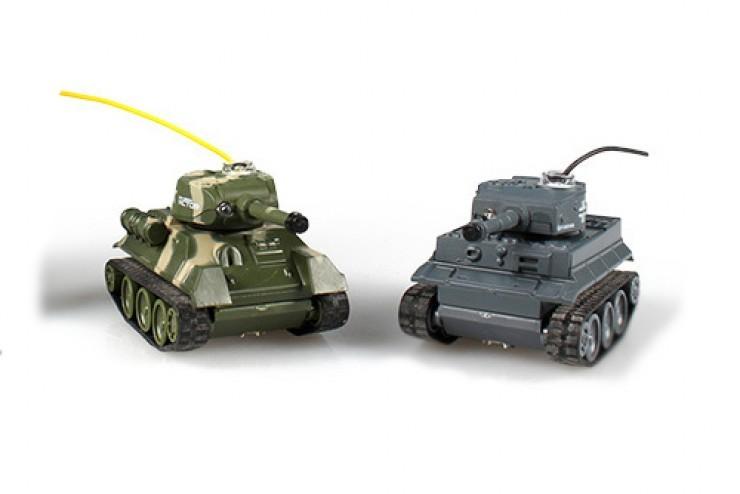 Мини танковый бой 1:64 Happy Cow - 777-213