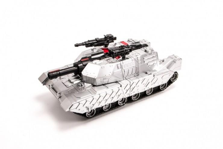 MZ-2327PF-S Радиоуправляемый трансформер танк, стреляющий присосками MZ 1:10 2.4G Meizhi MZ-2327PF-S