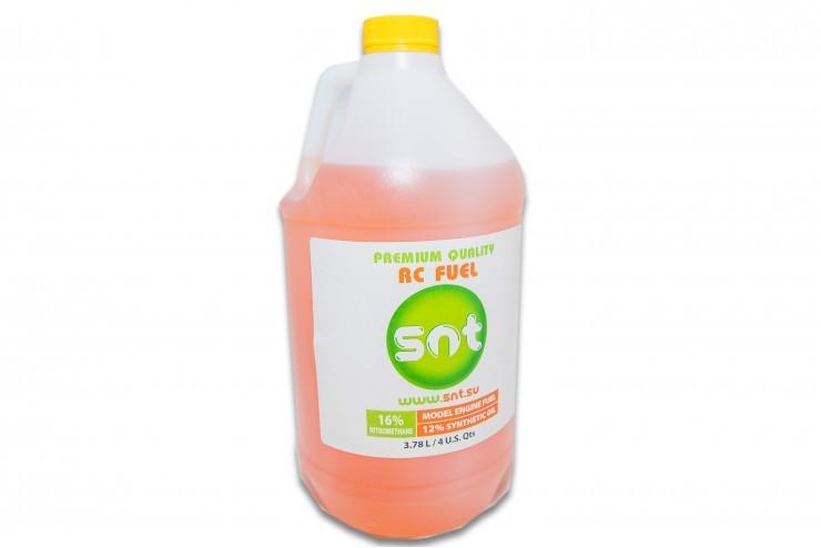 SNT-FUEL16 SNT Техническая жидкость (автомодельная), 16% 3,8 л SNT SNT-FUEL16