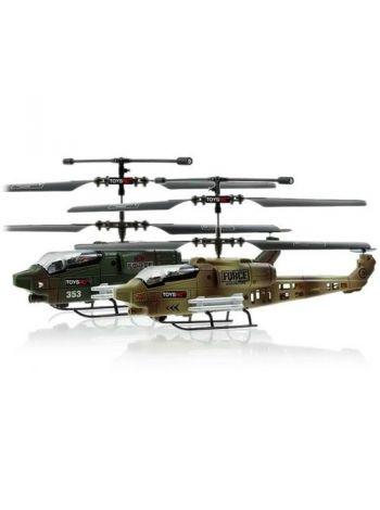 Радиоуправляемый вертолетный бой с гироскопом JXD353